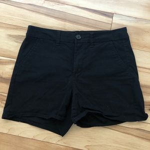 American Eagle High Waist Black Shorts